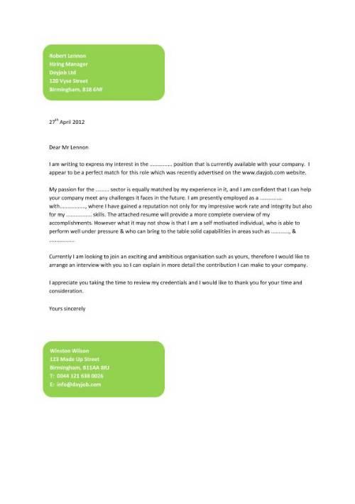Write Fcc Physical Letter