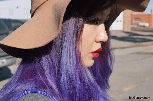 Pravana Violet Dye hair lavender purple