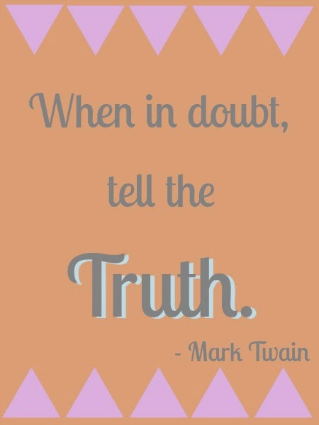 Mark Twian quote, southern bloggers, mississippi bloggers, female bloggers,