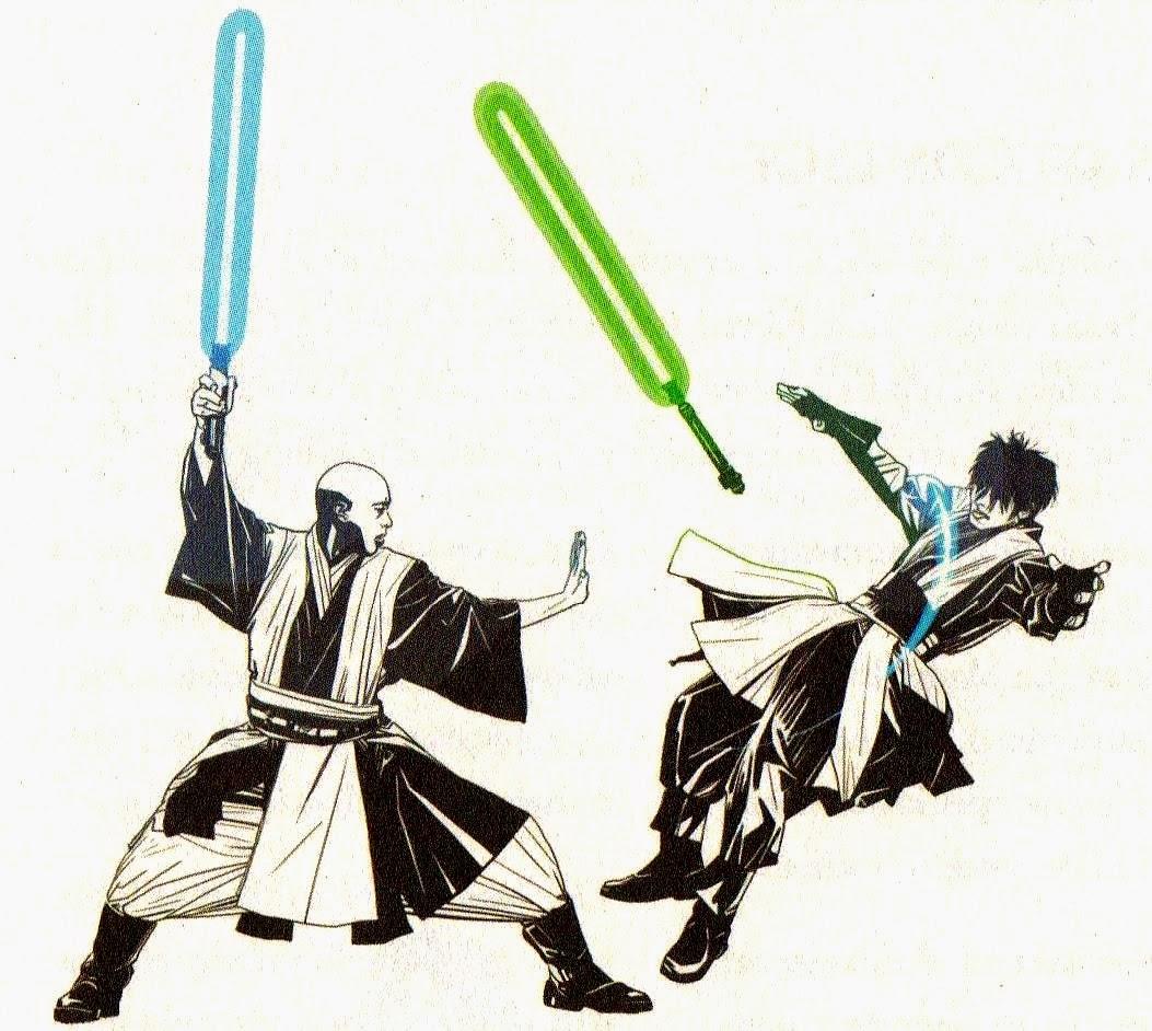 Sick Sentience : Lightsaber Combat: Form VI: Niman