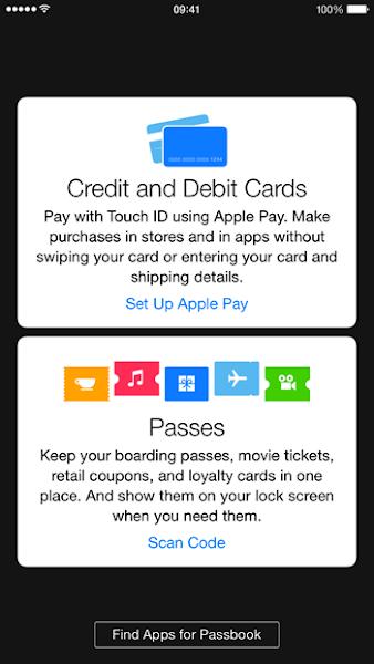 PassBook app in iOS 8.1