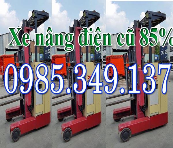 Xe nâng điện đứng lái 1.5 tấn cao 3m