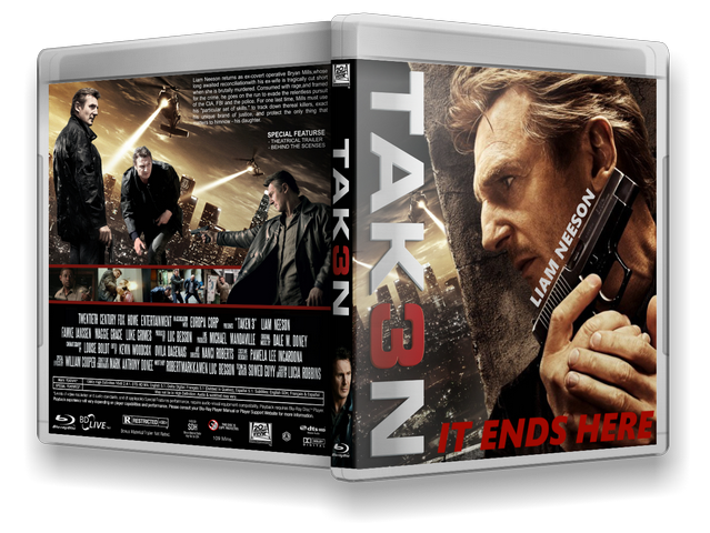 Capa Bluray Tak3n