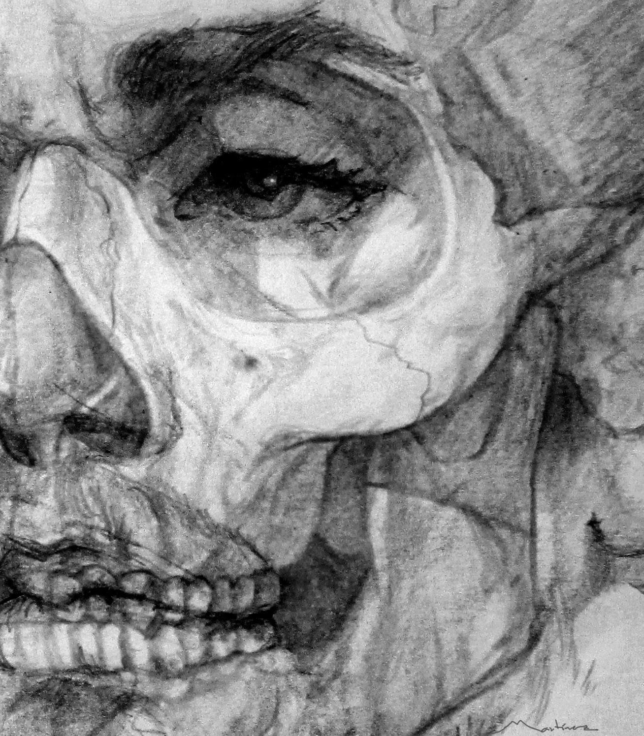 José Manuel Martínez Pérez Escultor: Dibujo de la estructura ósea de ...