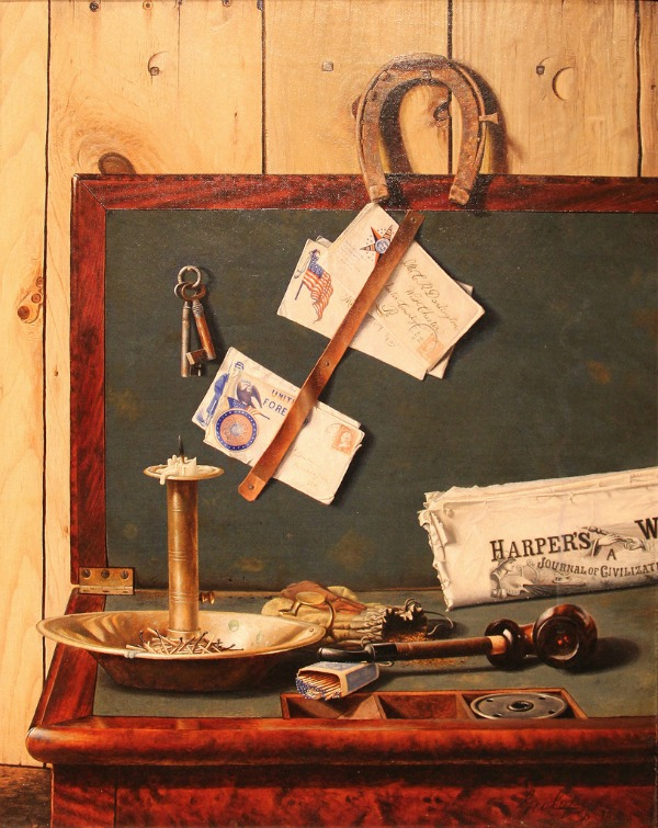 Mr Darlington Still Life by Quaker and Pennsylvania native George Cope-Allentown Art Museum