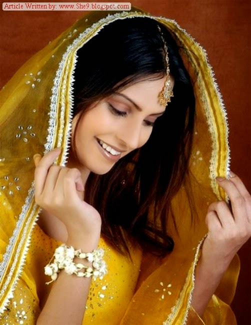 Mehndi Hairstyles 2014 : Latest bridal hairstyles for mehndi function she