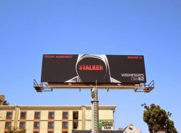 Stalker series premiere CBS billboard