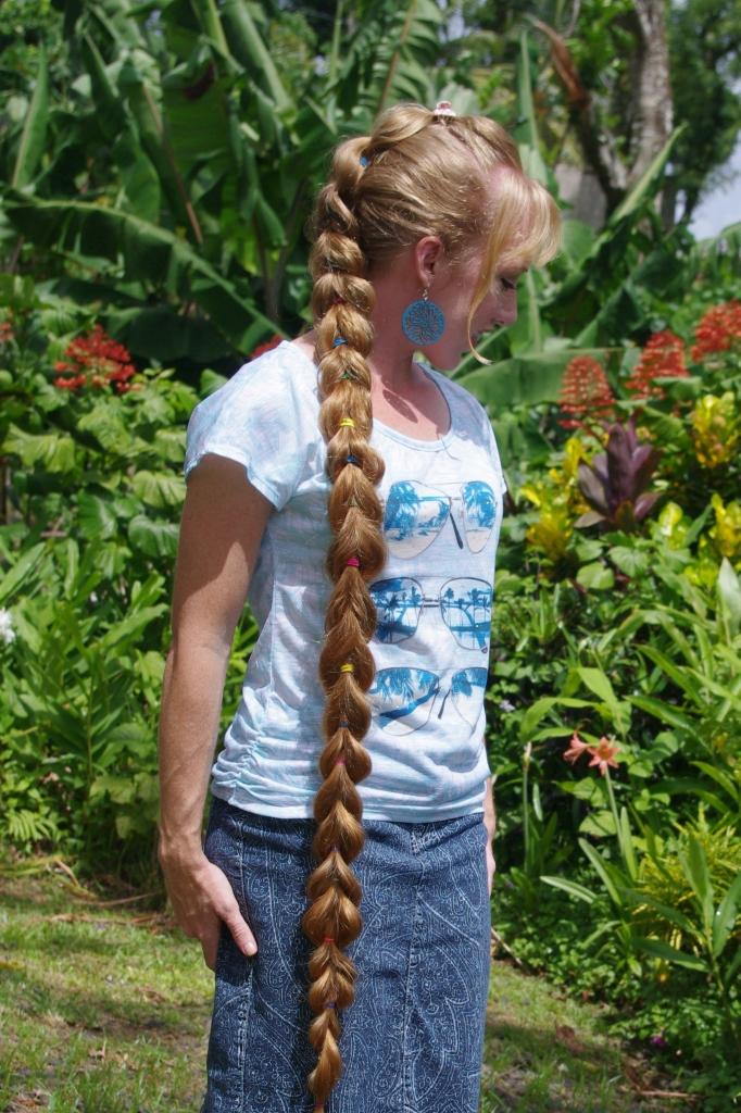 braids amp hairstyles for super long hair pullthrough braid