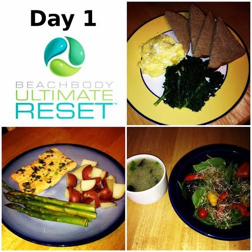 beachbody Ultimate Reset meals
