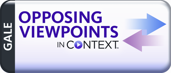 New Database: Opposing Viewpoints in Context | Finger Lakes ...