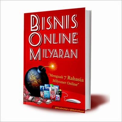 Belajar Bisnis Online Buku BOM (Bisnis Online Milyaran)