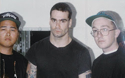 With Henry Rollins