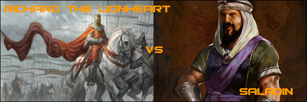 who were richard the lionheart and saladin