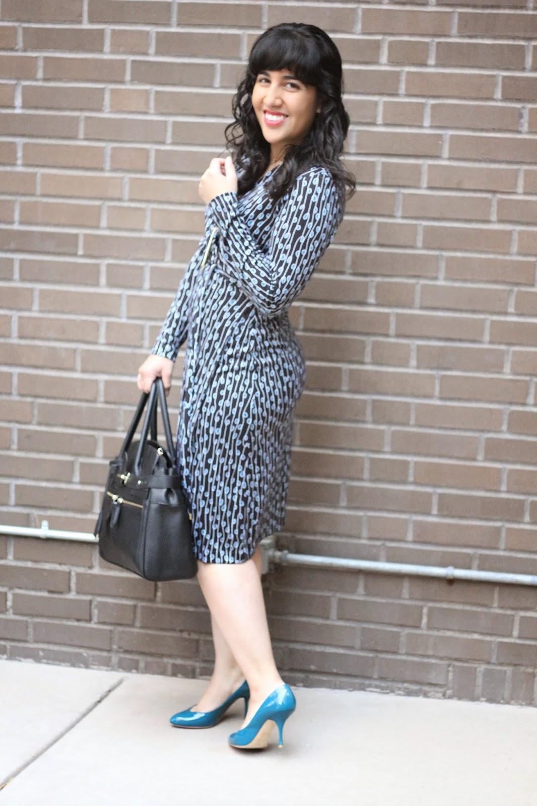 Gizela DVFWrap Dress