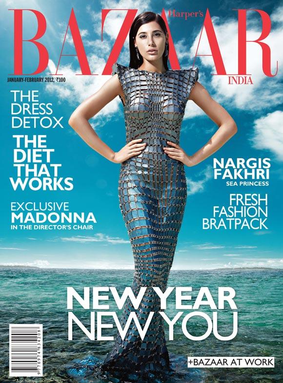 , Nargis Fakhri Sizzles In The Maldives For Harper's Bazaar