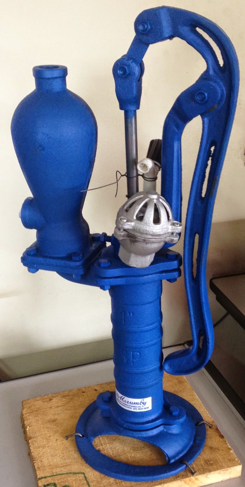 Marumby bombas bombas for Bomba de agua manual