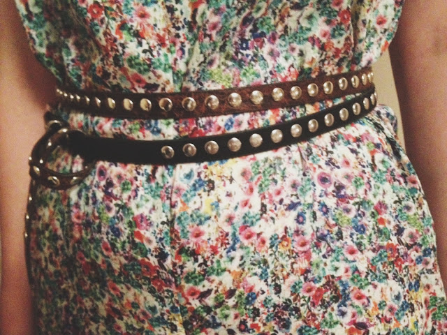 Zara, belt, River Island belt, print, fabric