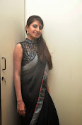 Model Shehnaaz Glam pics in saree-thumbnail-11