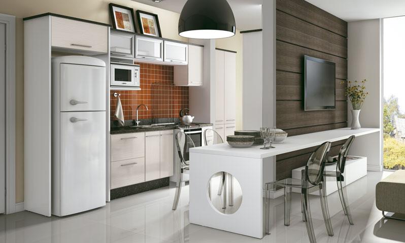 Cozinha Conjugada com a Sala: Decoração, Dicas, Fotos