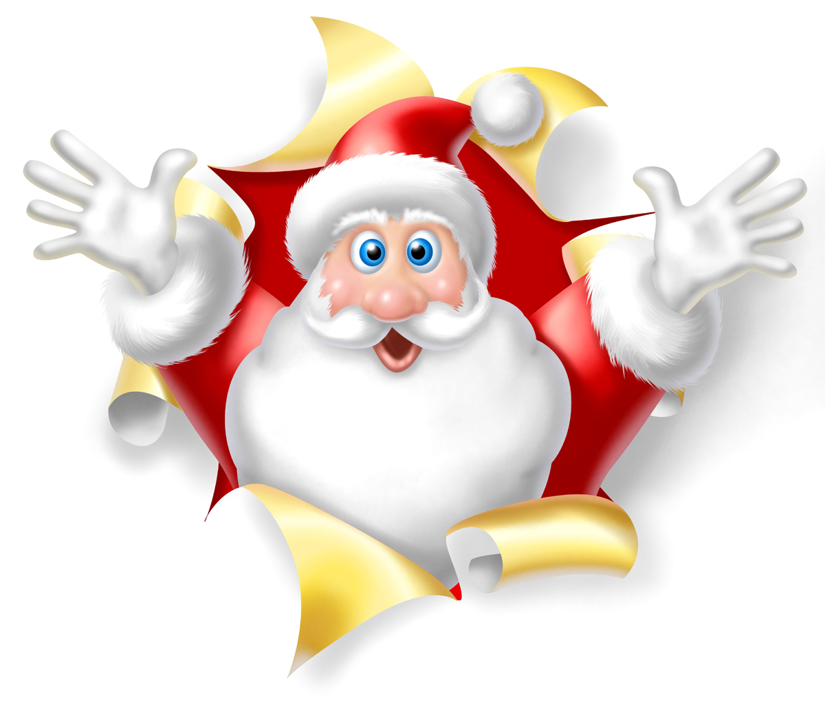 QQ Wallpapers: Santa Claus --- Christmas Wallpaper