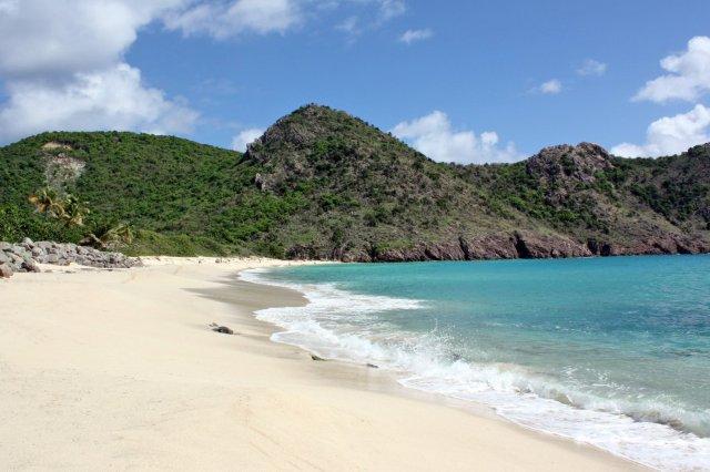 Playa Gouverneur en St Barts, San Bartolome