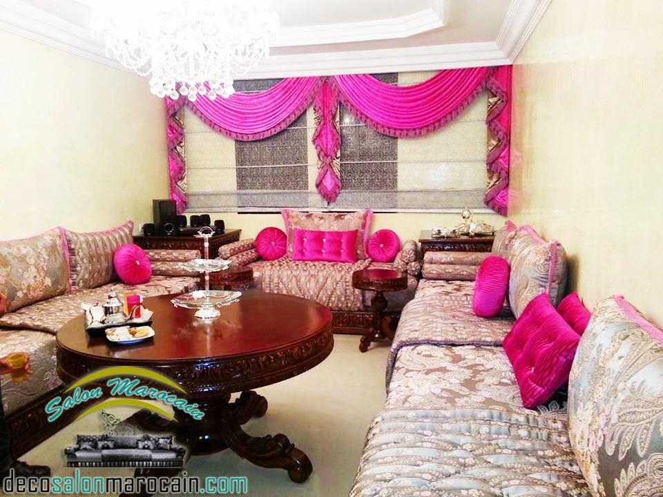 salon marocain arabesque