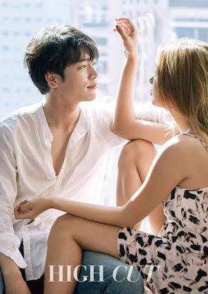 """Gaya Romantis Seo Kang Joon dan Lee Ho Jung di Foto Terbaru """"High Cut"""""""