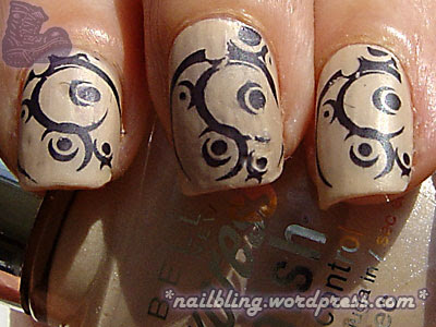 Tribal Nails II -- Matte