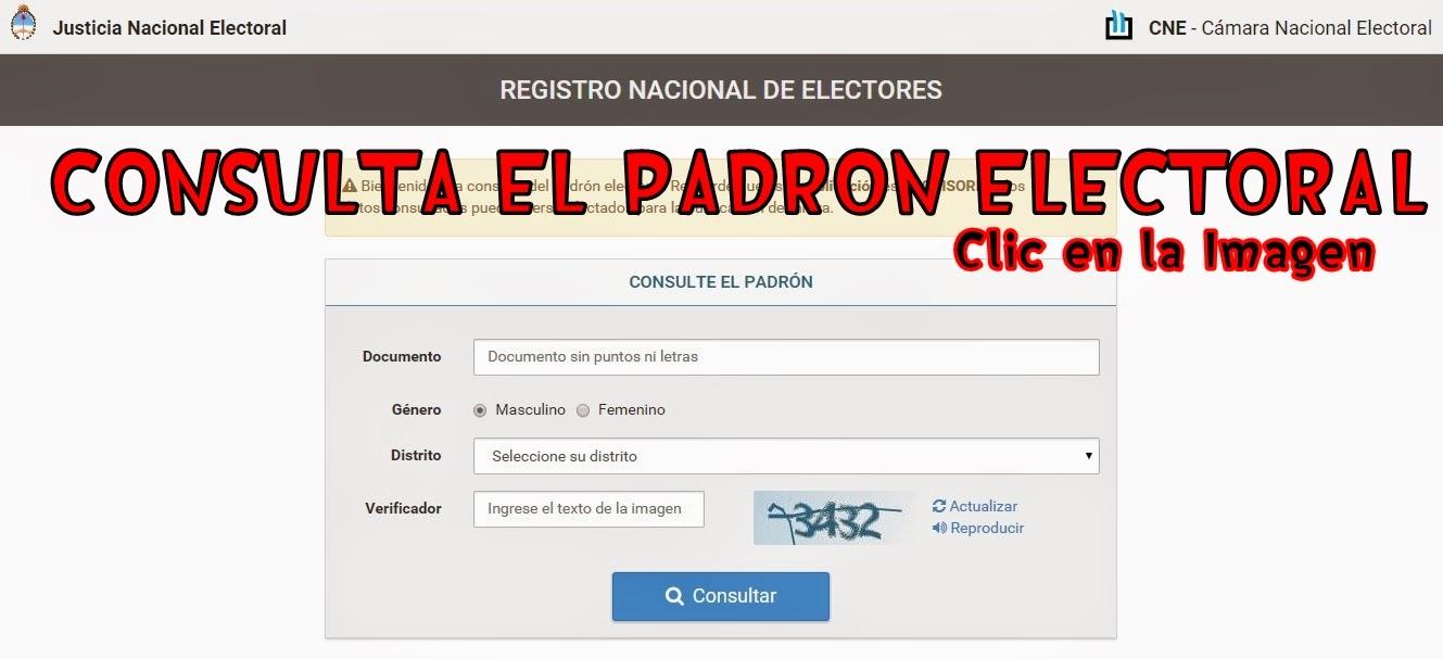 Consulta el Padrón Electoral