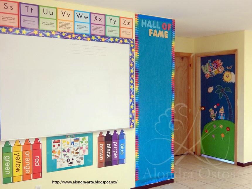 Decoracion para salon de clases preescolar - Decorar mi salon ...