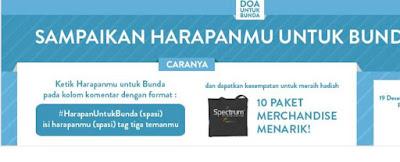 Info Kuis - Kuis Harapan Untuk Bunda Berhadiah  Merchandise Menarik