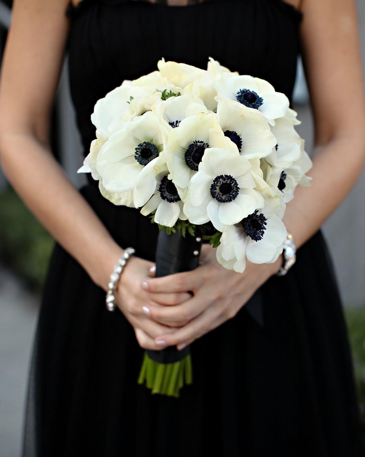Wedding Flowers Black Wedding Flowers