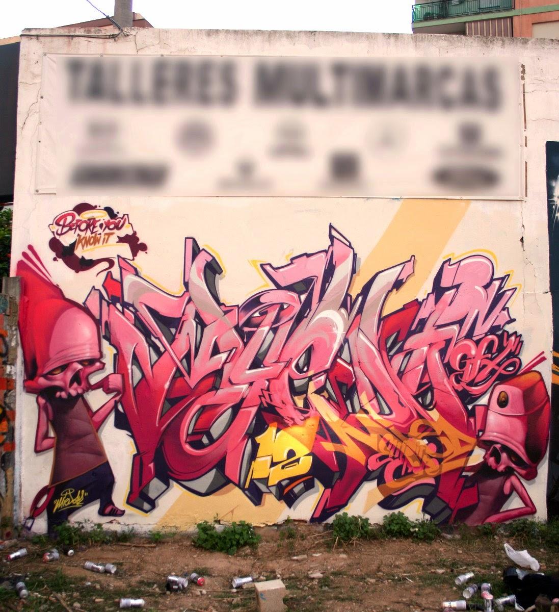 Miedo12 07 street art spain valencia
