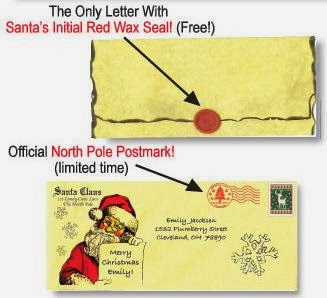 dear santa sample envelopes