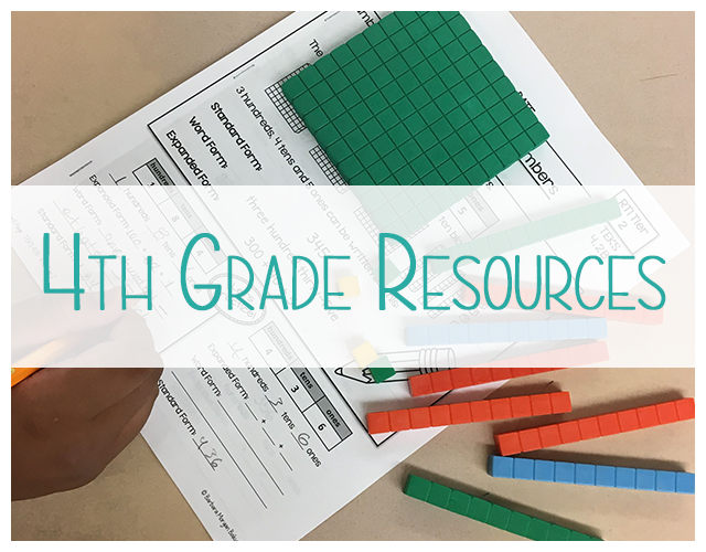 4th Grade Resources