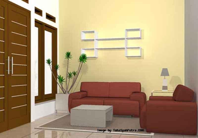 Dekorasi Interior Ruang Tamu Sederhana Minimalis 2014