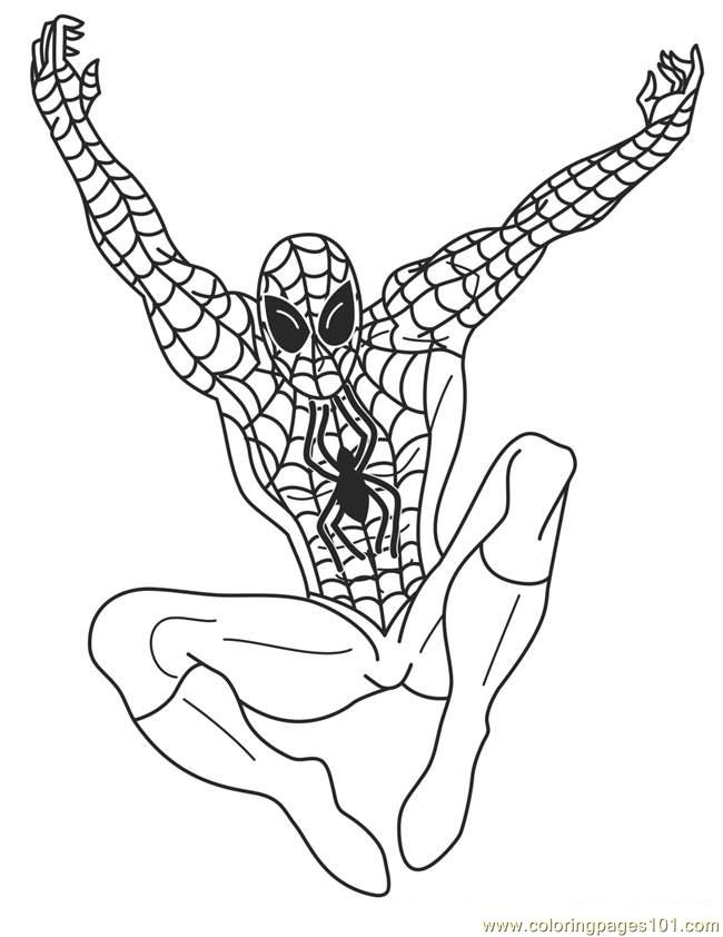 Best Superhero Coloring Pages Printable - Superhero Coloring Pages