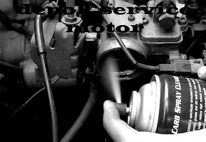 Penggunaan Carburator Cleaner