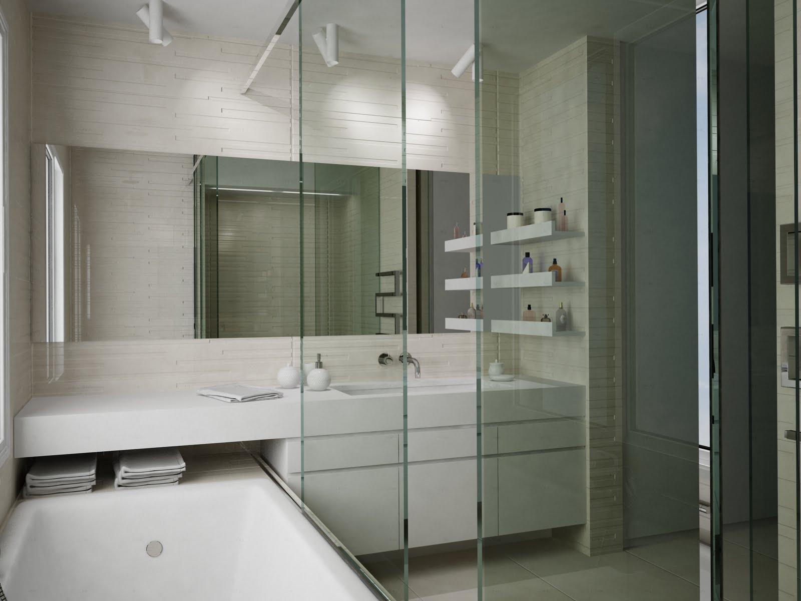 I need 3d buildings interior for 3d bathroom models