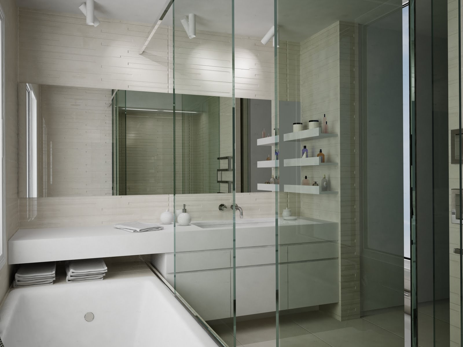 I need 3d buildings interior for Bathroom design 3d model
