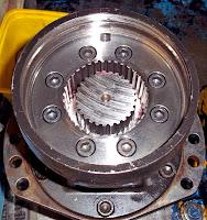 Poclain motor repair