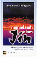 toko buku rahma: buku menjelajah alam jin, pengarang majdi muhammad asy syahawi, penerbit pustaka setia