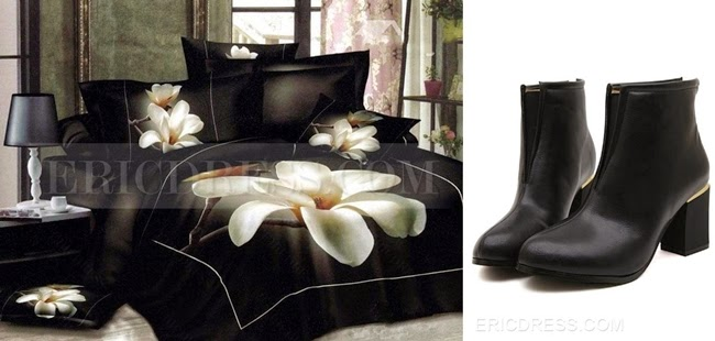 ericdress boots bedding-sets colour comparison - style whimsical
