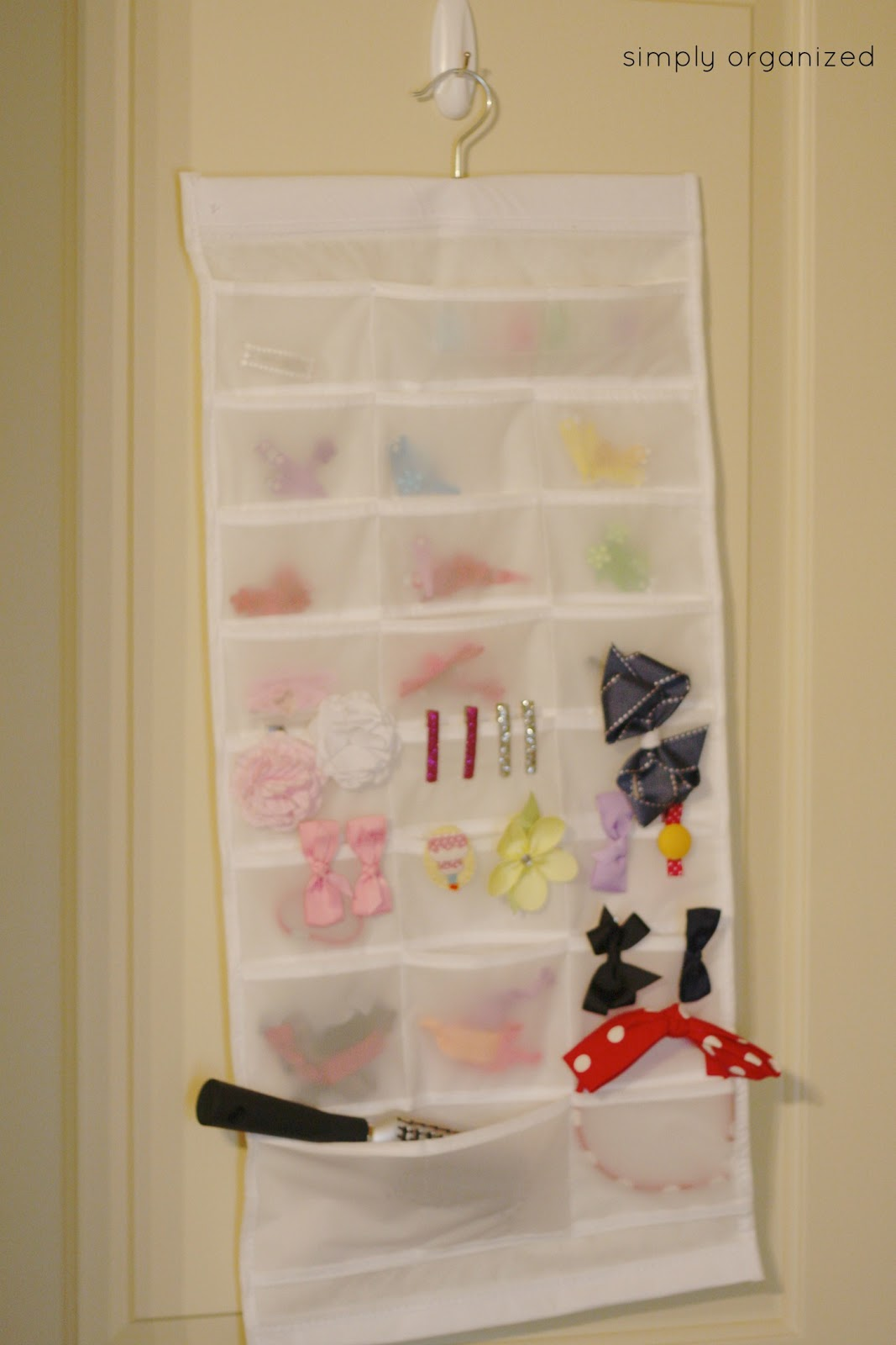 system update hair accessory organizer simply organized. Black Bedroom Furniture Sets. Home Design Ideas