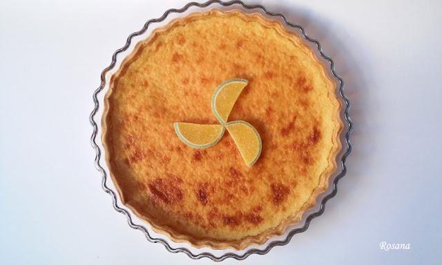 tarta facil de limon