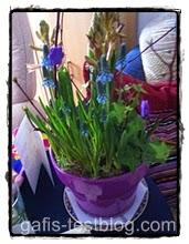 Frühlings- Blumenschale