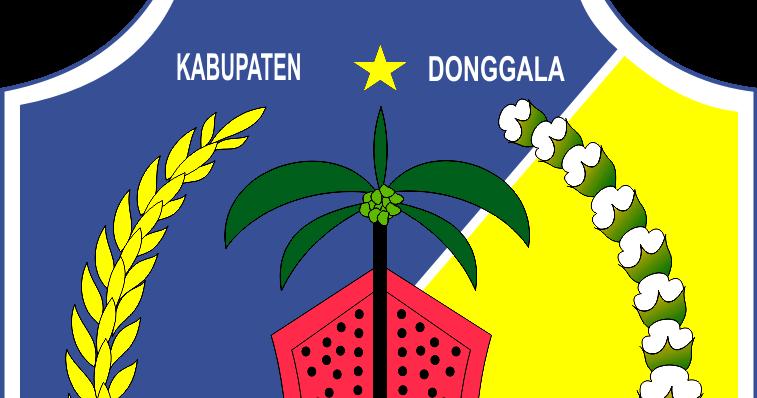 Logo Kabupaten Kota Logo Kabupaten Donggala Sulawesi Tengah