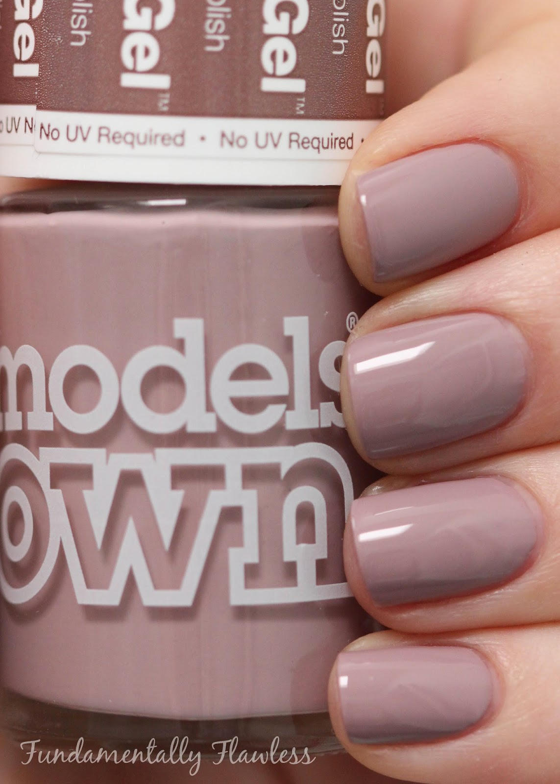 Models Own Midsummer Mauve Hypergel swatch