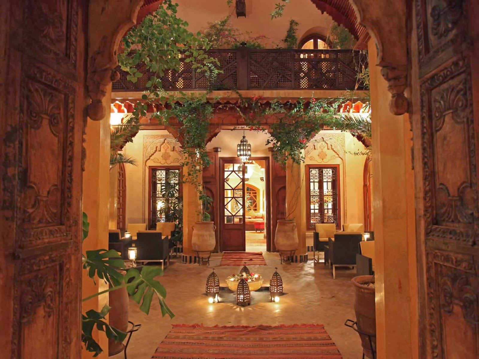Luxury life design la maison arabe marrakech morocco for Architecture maison arabe