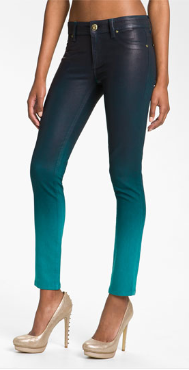 DL1961 'Emma' Waxed Skinny Jeans (Bali